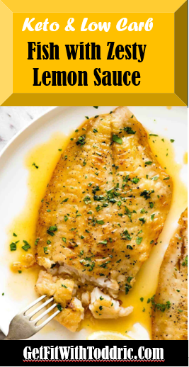 Keto Zesty Lemon Fish